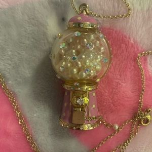 Betsey Candy Gum ball machine necklace!